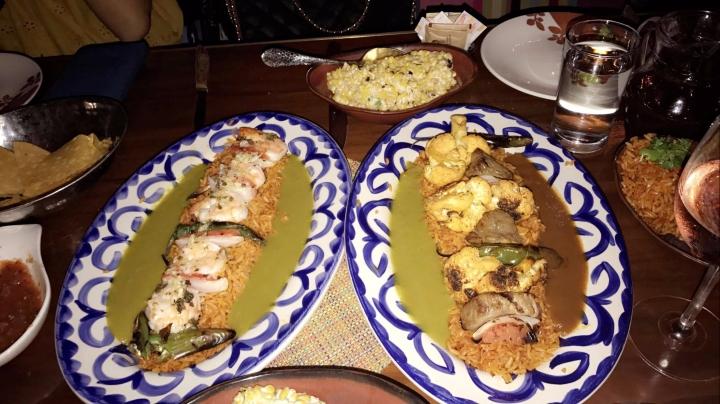 Dinner at Rosa Mexicano